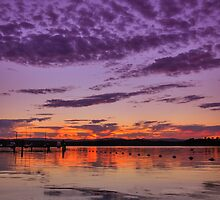 Croudace Bay Sunset 4 by Mark Snelson
