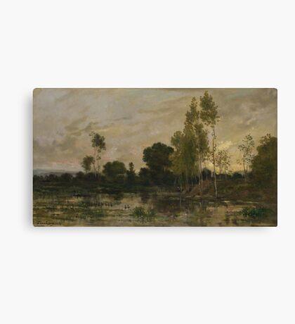 Charles-Francois Daubigny - Alders Canvas Print
