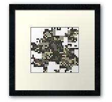 Pixel Army Framed Print