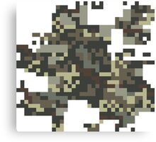 Pixel Army Canvas Print