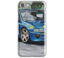 Colin McRae Subaru Impretza iPhone Case/Skin