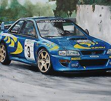 Colin McRae Subaru Impretza by iconic-arts