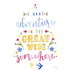 Beauty and the Beast Adventure Typography by courtneysummer