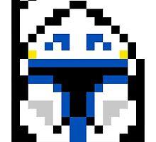 8-bit Captain Rex by DeezLees