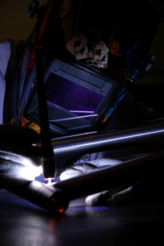 welding in the dark by Hawk