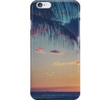 Tropical Sunset In Hawaii iPhone Case/Skin