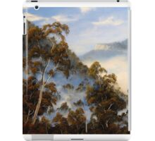Fog Below The Escarpments iPad Case/Skin