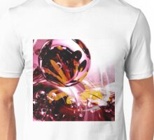 Love, if it holds in a single flower, is infinite. Unisex T-Shirt