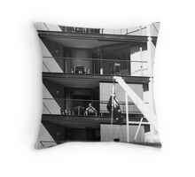 The Queen Of Circular Quay Throw Pillow