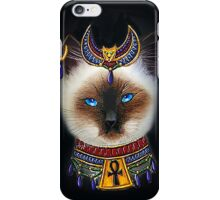 Pharaoh Cat Art iPhone Case/Skin