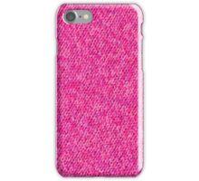 Pink Wool iPhone Case/Skin