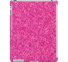 Pink Wool iPad Case/Skin