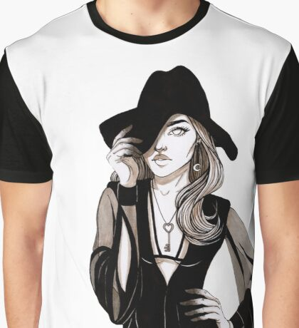 Witch Girl Graphic T-Shirt