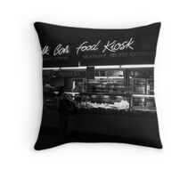 Milk Bar Noir Throw Pillow