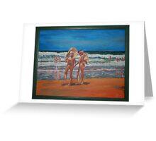 Samurai Beach, Anna Bay, NSW. Last annual nude beach, carnival.  Greeting Card