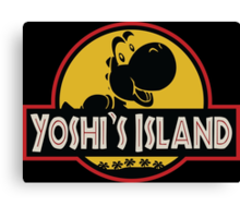 Welcome to Yoshi's Island! Canvas Print