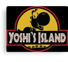 Welcome to Yoshi's Island! Canvas Print