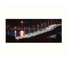 Forster Tuncurry at night Art Print