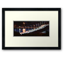 Forster Tuncurry at night Framed Print