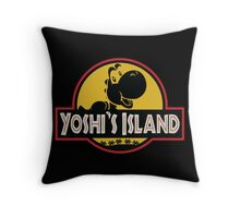 Welcome to Yoshi's Island! Throw Pillow
