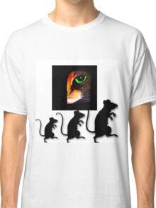 Charming Cat Watching! Classic T-Shirt