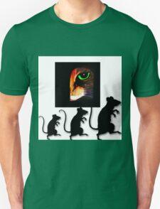 Charming Cat Watching! T-Shirt