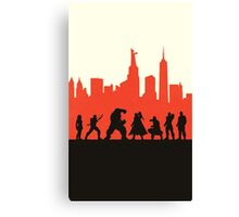 City Defenders Canvas Print