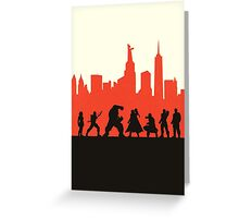 City Defenders Greeting Card