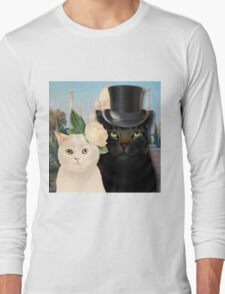 Charming Cats Wedding  Long Sleeve T-Shirt