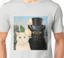 Charming Cats Wedding  Unisex T-Shirt