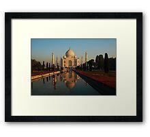 Mystical Agra Framed Print