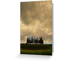 Rainy day in Toskany Greeting Card