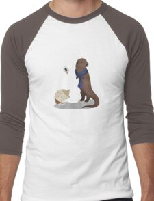 animalock Men's Baseball ¾ T-Shirt