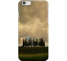 Rainy day in Toskany iPhone Case/Skin