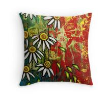 Echinaceas Throw Pillow