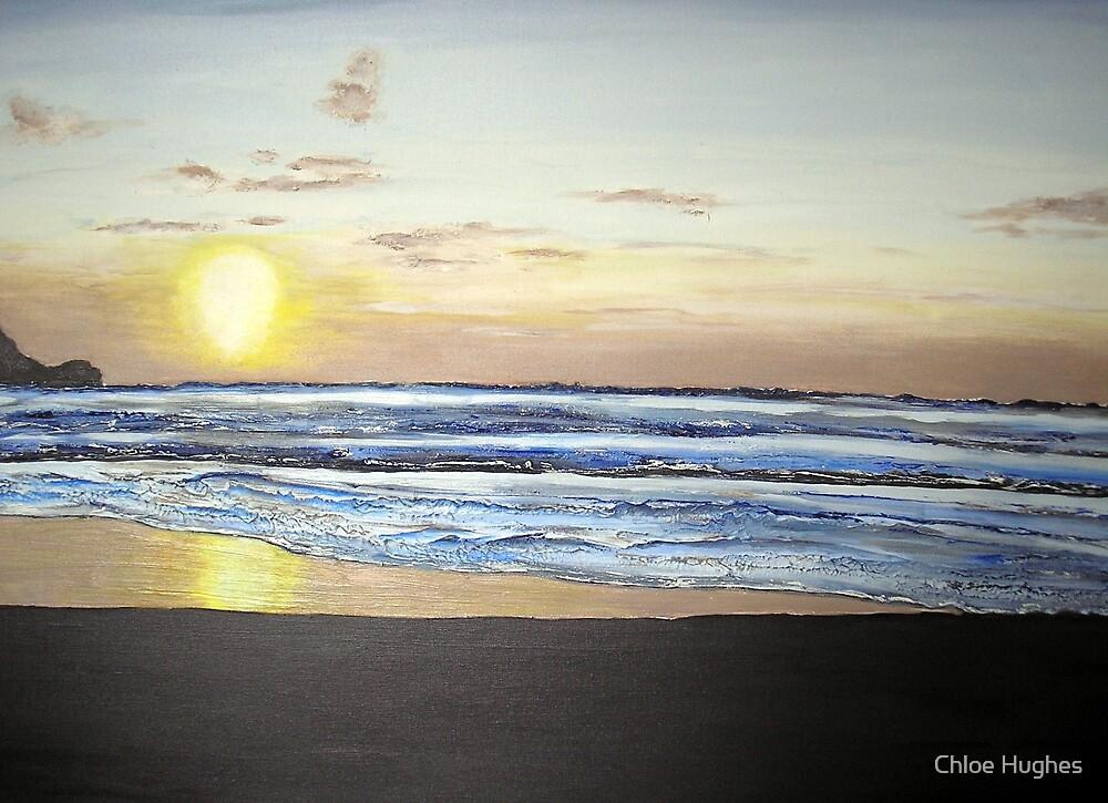 Sunset over Kuta by Chloe Hughes
