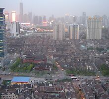 Shanghai by Evening by Taniuska