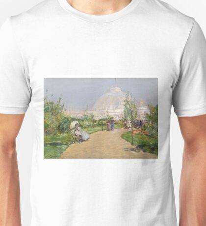 Childe Hassam - Horticulture Building, World S Columbian Exposition, Chicago Unisex T-Shirt