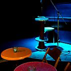 Le Garcon.......Blue Light on a Stage by Imi Koetz