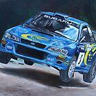 Richard Burns Subaru by iconic-arts