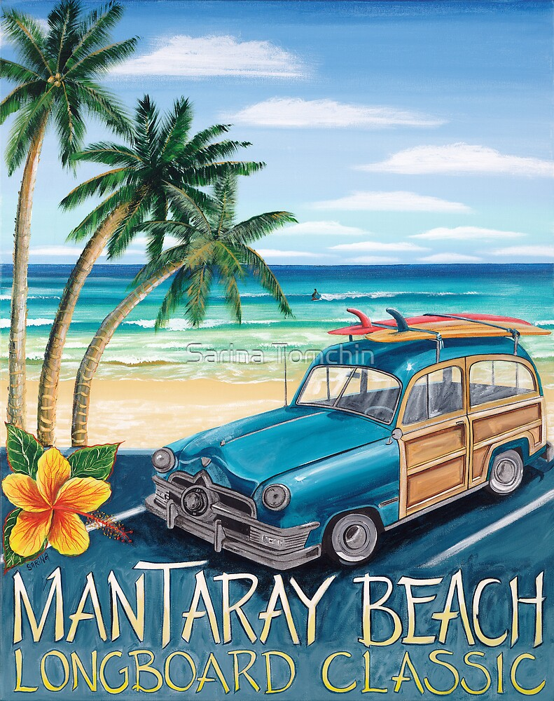 Mantaray Beach by Sarina Tomchin