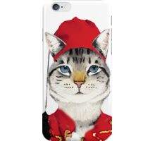Original Greek Cat Art Print iPhone Case/Skin