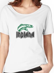 Fish Indiana Women's Relaxed Fit T-Shirt