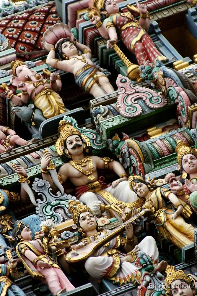 Sri Veeramakaliamman Temple - Singapore by Erin McMahon