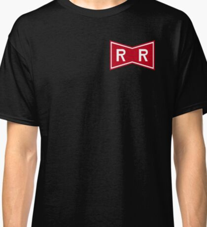 Red Ribbon Army Logo (Updated Jan-2017) Classic T-Shirt