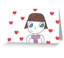 Lotus Mei Greeting Card