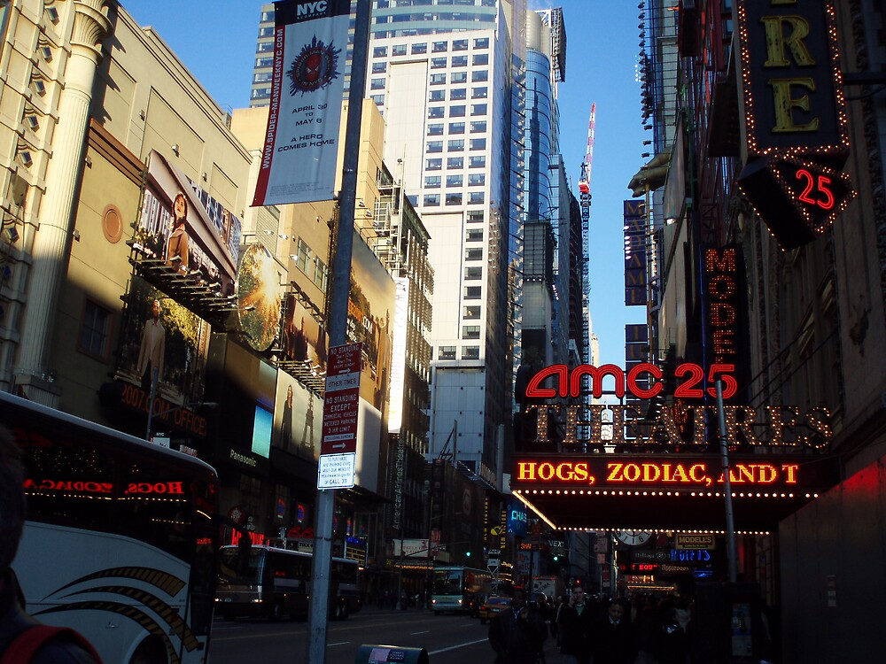 Times Square by kaushik