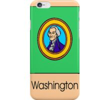 Washington State Flag iPhone Case/Skin