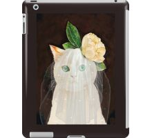 The Bride Cat Art iPad Case/Skin