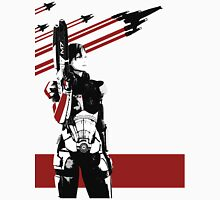N7- Commander Shepard (Female) Unisex T-Shirt